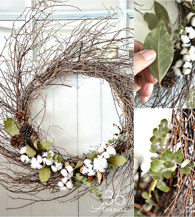Farmhouse Style Wreath Tutorial