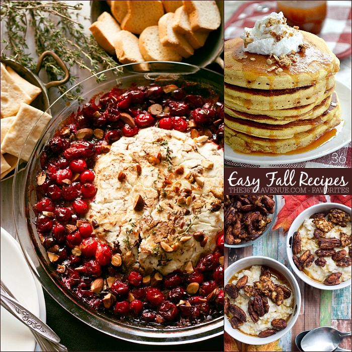 Fall Recipes - Easy traditional Fall Recipes made with ingredients that you may already have in your kitchen.