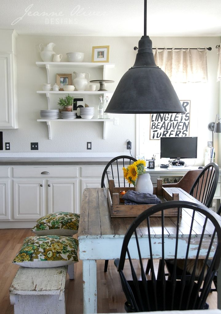 Farmhouse Kitchen Decor Ideas | The 36th AVENUE