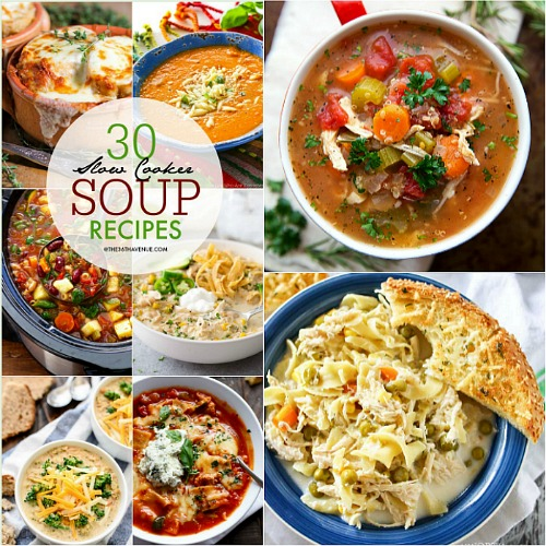 Slow Cooker – Crock Pot Soup Recipes