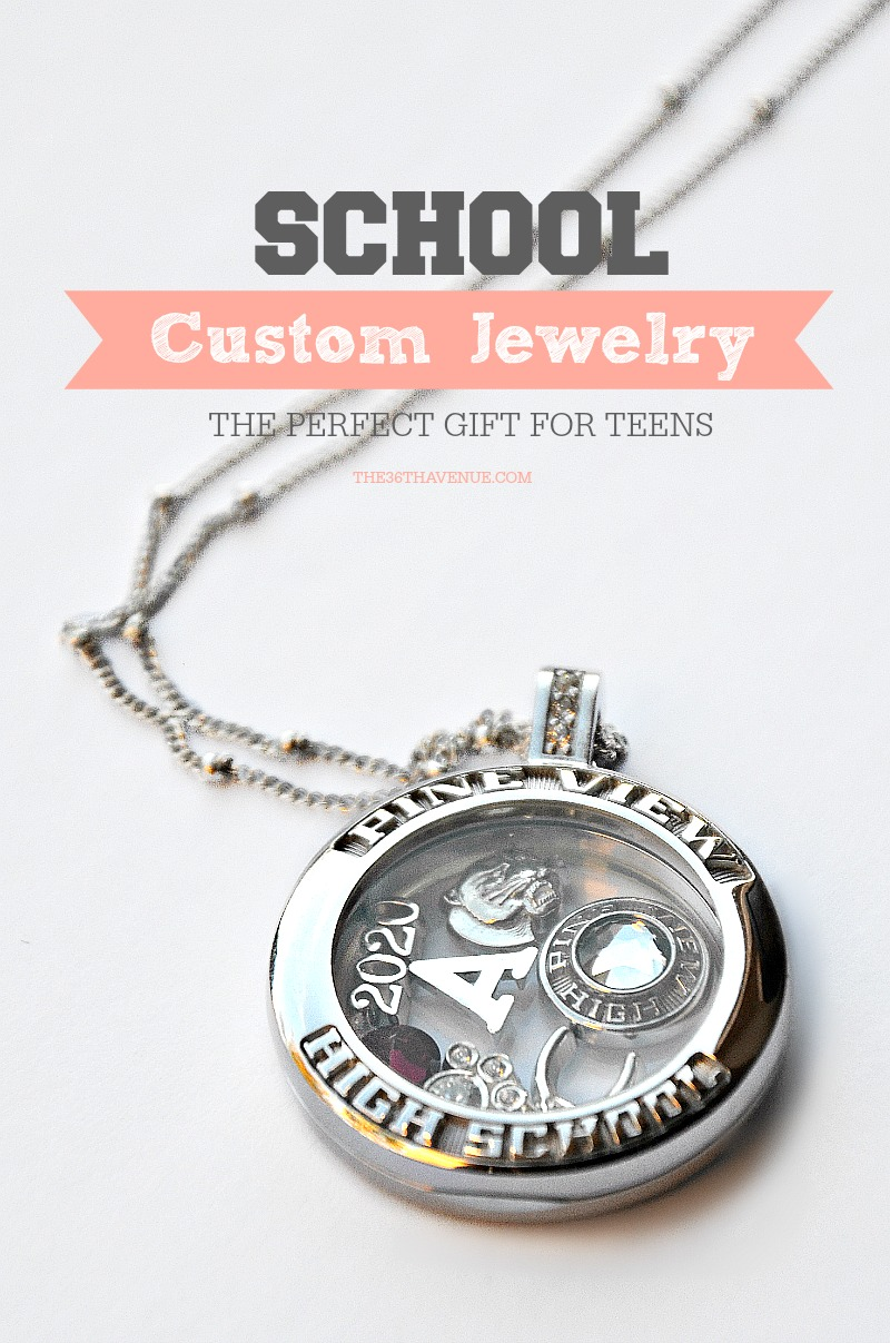 Gift Ideas for Teenagers - Great custom jewelry for teens and graduation gifts.