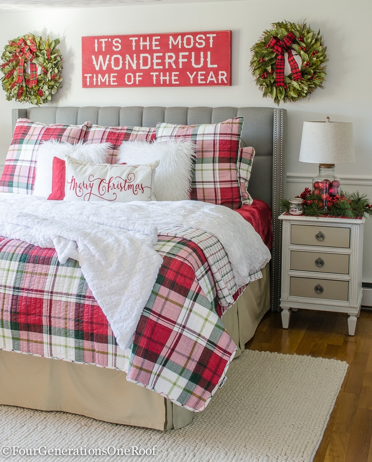 Plaid-Christmas-Bedroom-2016-13