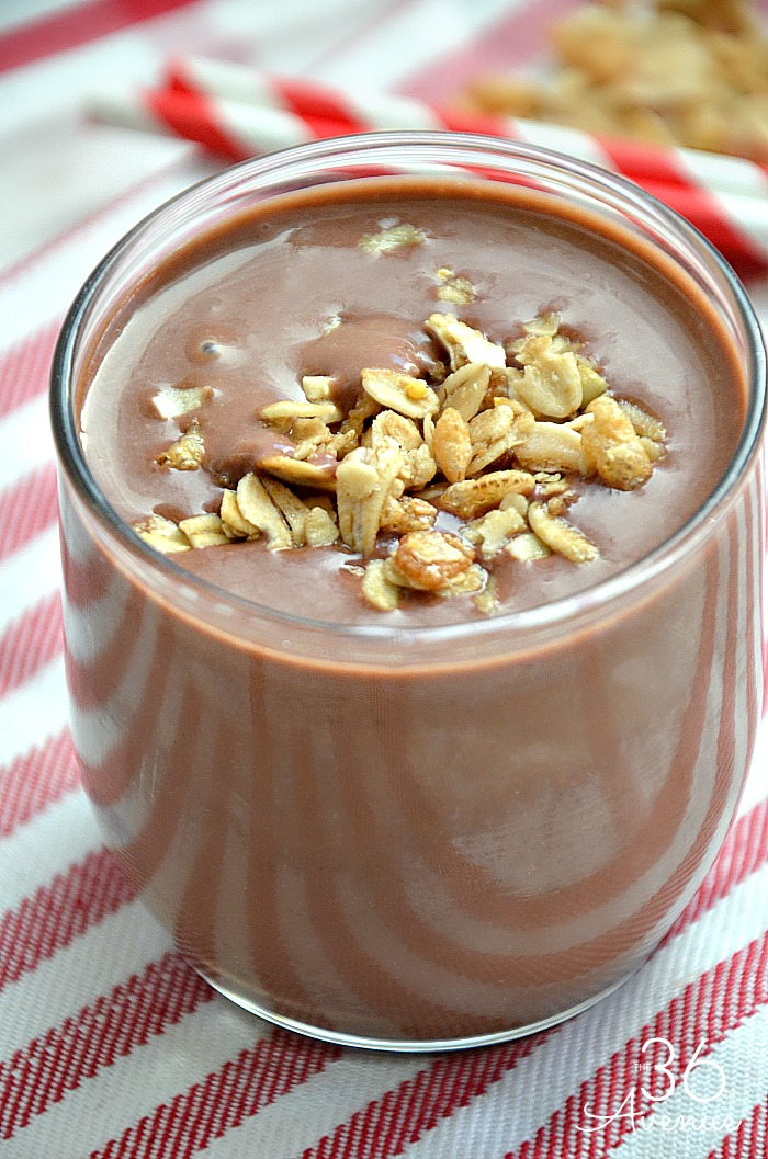 Chocolate Peanut Butter Protein Smoothie Recipe