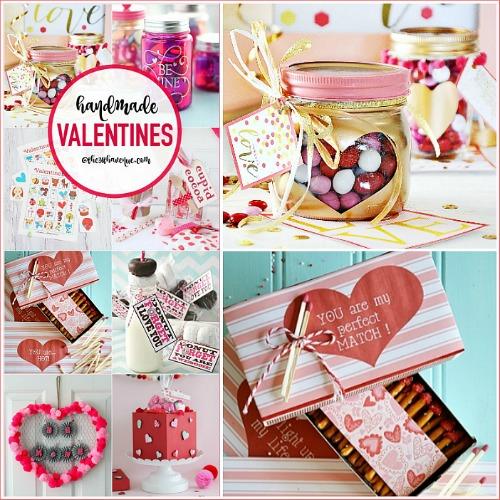 Handmade Valentines – DIY Gift Ideas