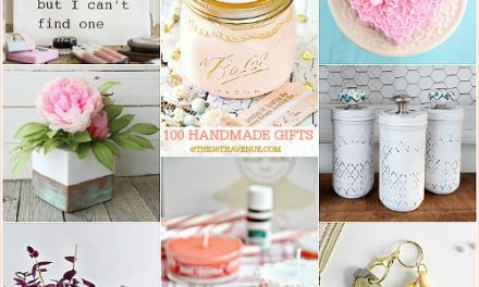 100 Handmade Gifts – DIY Women Gifts