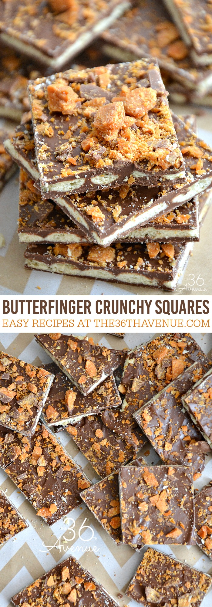 Butterfiger Crunchy Squares the36thavenue.com