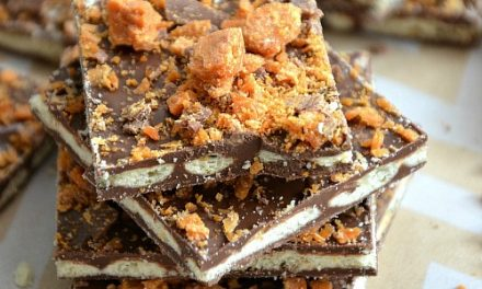 Butterfinger Crunchy Squares