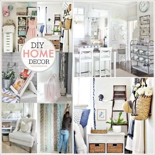 Home Decor Ideas – DIY Spring Decor