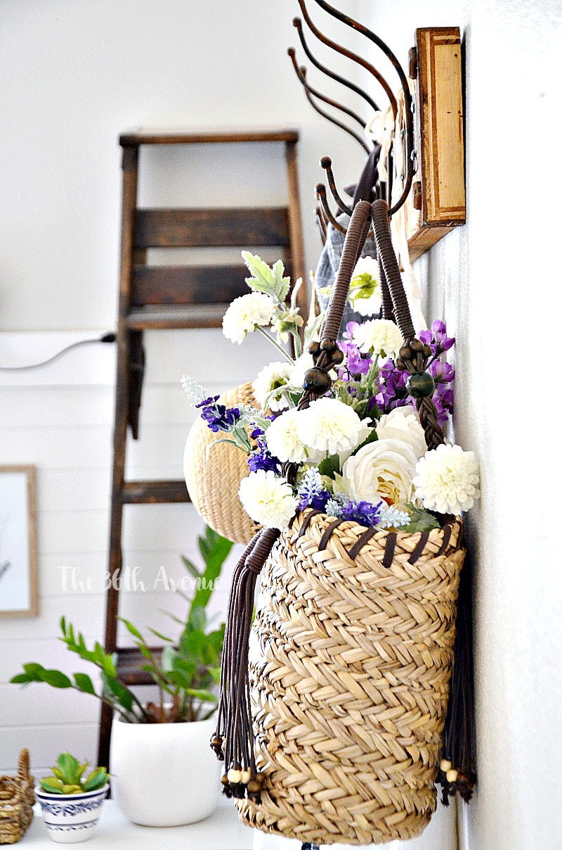 DIY Home Spring Decor ideas inspired by nature. See how you can decorate any room of your home using flowers and plants.