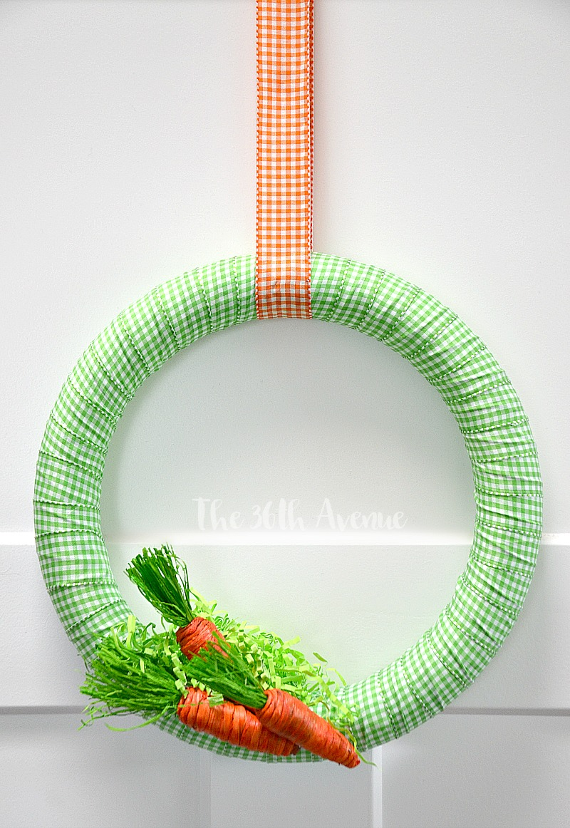 Wreath Tutorial 4 the36thavenue.com