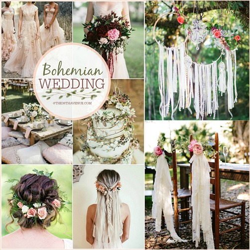 Wedding Ideas And Inspirations: Bohemian Wedding Ideas – DIY Boho Chic Wedding