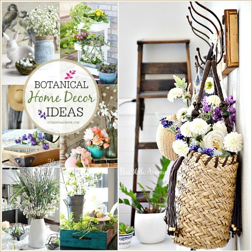 DIY Home Decor – Botanical Spring Decor