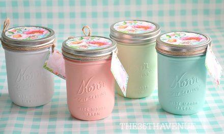 Mason Jars – Handmade Gift Idea
