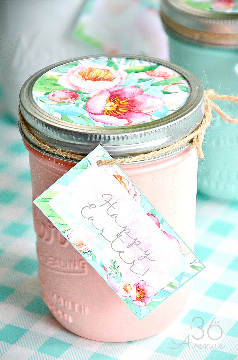 Mason Jars Handmade Gift Idea The 36th Avenue