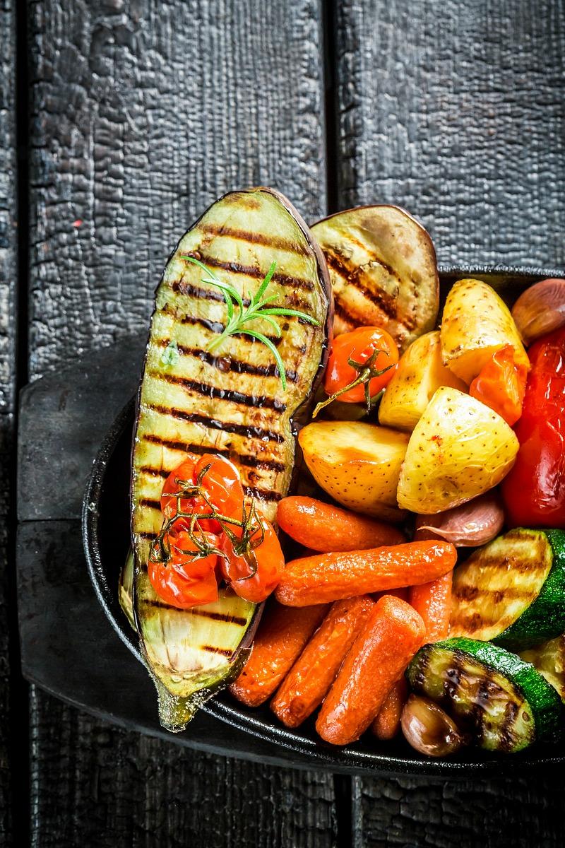 Roasted Vegetable Recipe - Easy side dish recipe.