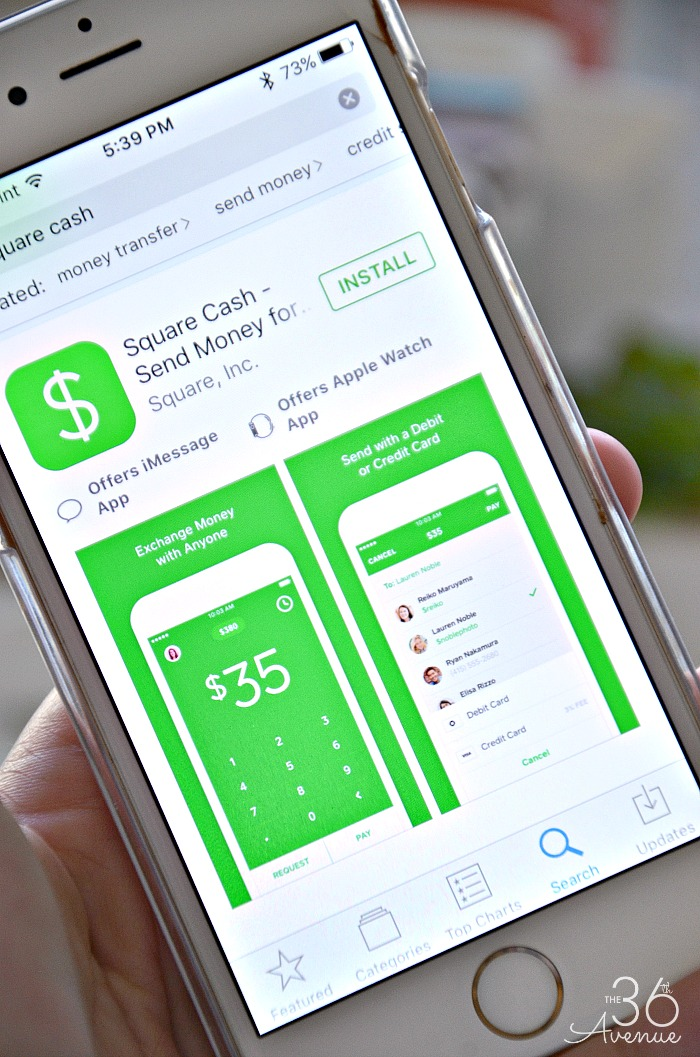 Square Cash App - The must have mom app at the36thavenue.com