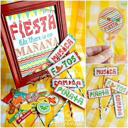 Cinco de Mayo Printables – Fiesta Ideas