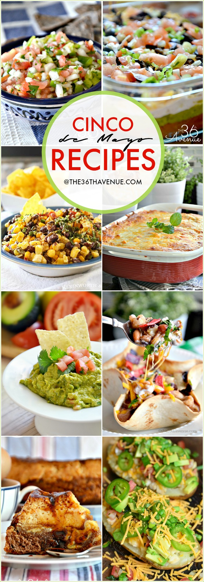 Cinco de Mayo Recipes should be colorful, tasty, and fun party food. These Mexican Food Recipes are easy to make and delicious.