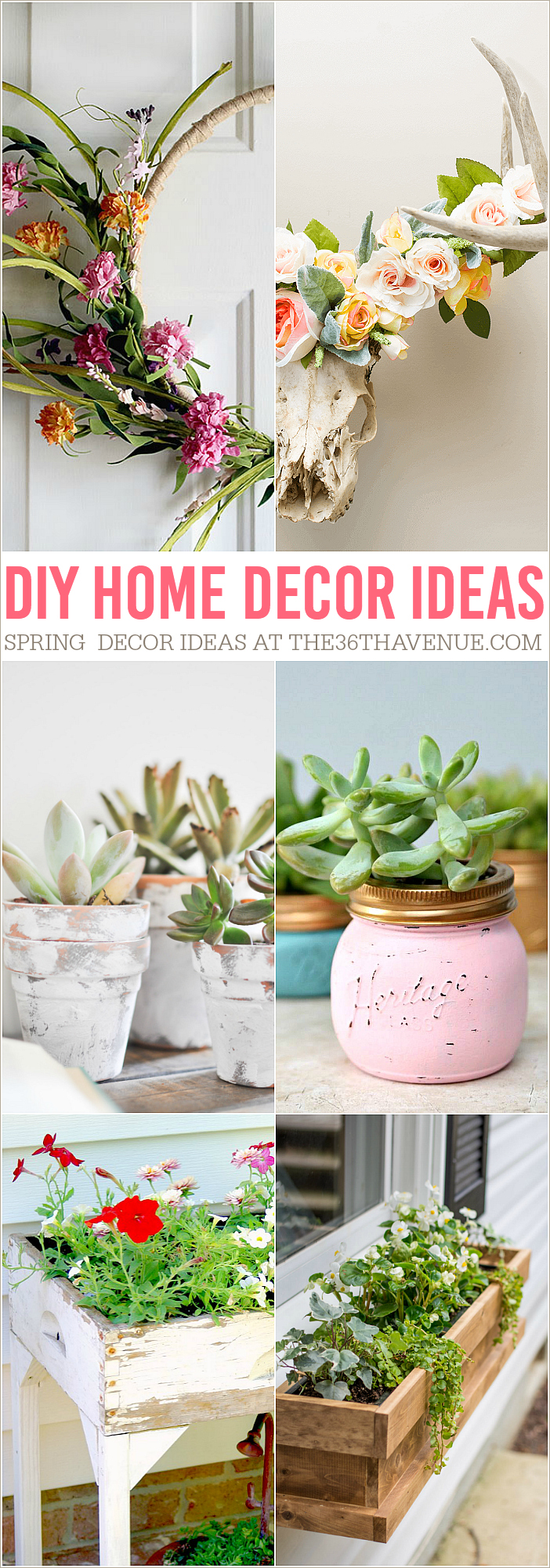 Spring DIY Home Decor Ideas that you can do.
