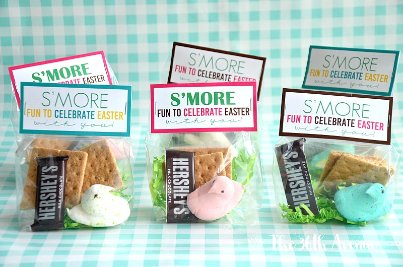 These Easter S'mores are adorable and they make the cutest classroom treat for Easter Week.