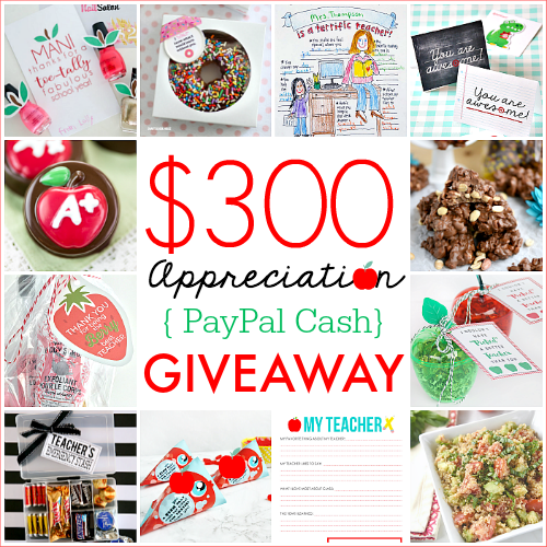 Teacher Gift ideas – Appreciation Week