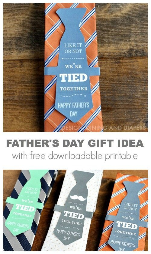 image relating to Gift Not Included Printable named Fathers Working day Reward Thought ~ No cost Printable - The 36th Street