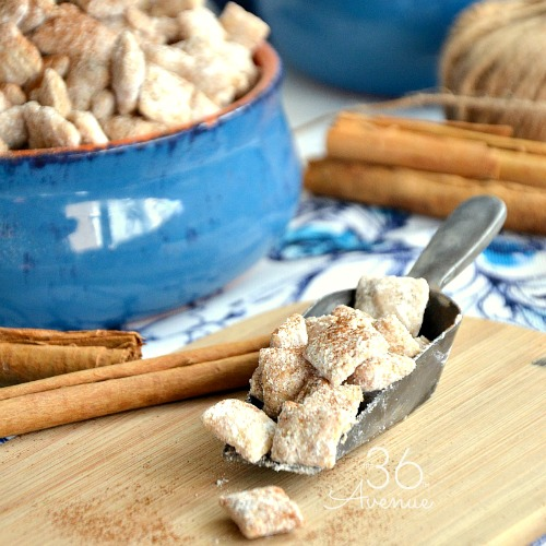 Churro Puppy Chow – Snack Recipe