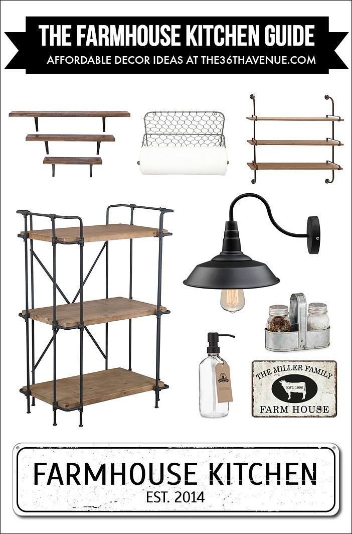 Kitchen-Farmhouse-Decor- FB the36thavenue.com