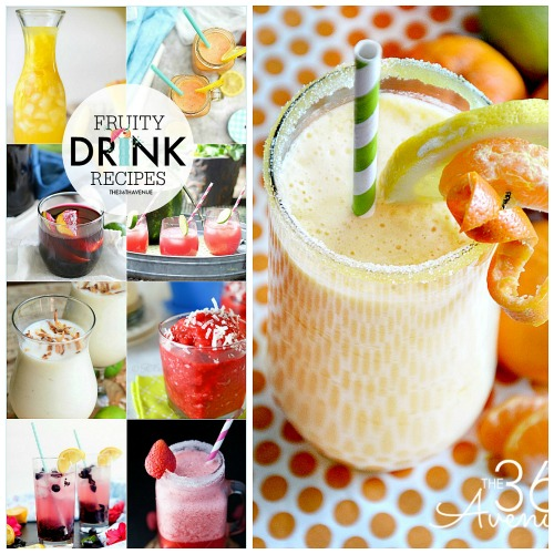 Drink Recipes – Fresh Fruity Drinks