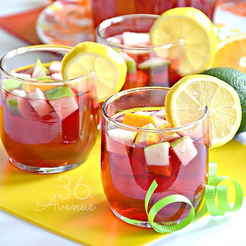 Sangria Recipe – Summer Drink Recipes