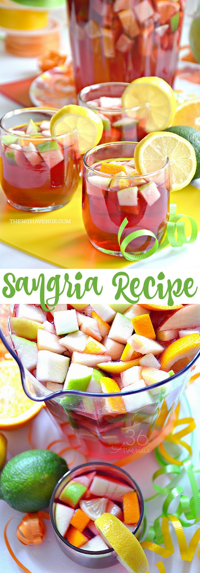 Sangria Recipe Long the36thavenue.com .jpg