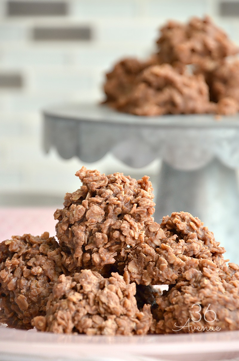 No Bake Cookies - Gluten free, vegan cookie recipe