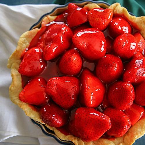 30 Minute Strawberry Pie Recipe