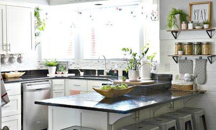 White Kitchen – Pink Kitchen Decor