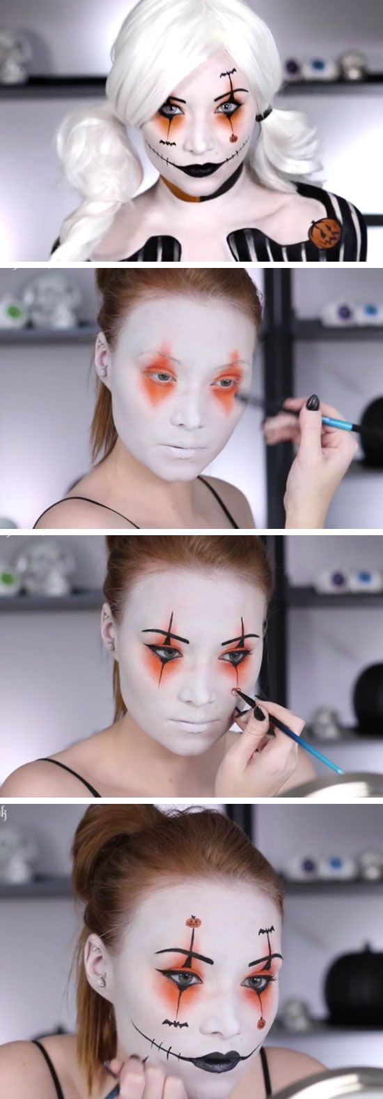 Halloween Makeup Ideas Easy Makeup Looks.Halloween Makeup Tutorials Costume Ideas The 36th Avenue