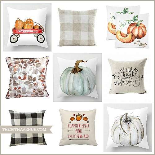 Fall Pillows – Fall Home Decor
