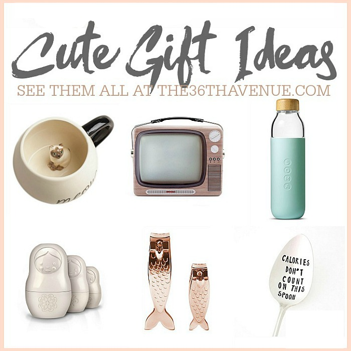 Cute Gift Ideas for women. These unique gift ideas are perfect for Christmas gifts, birthdays, Mother's Day or nay other special occasion.