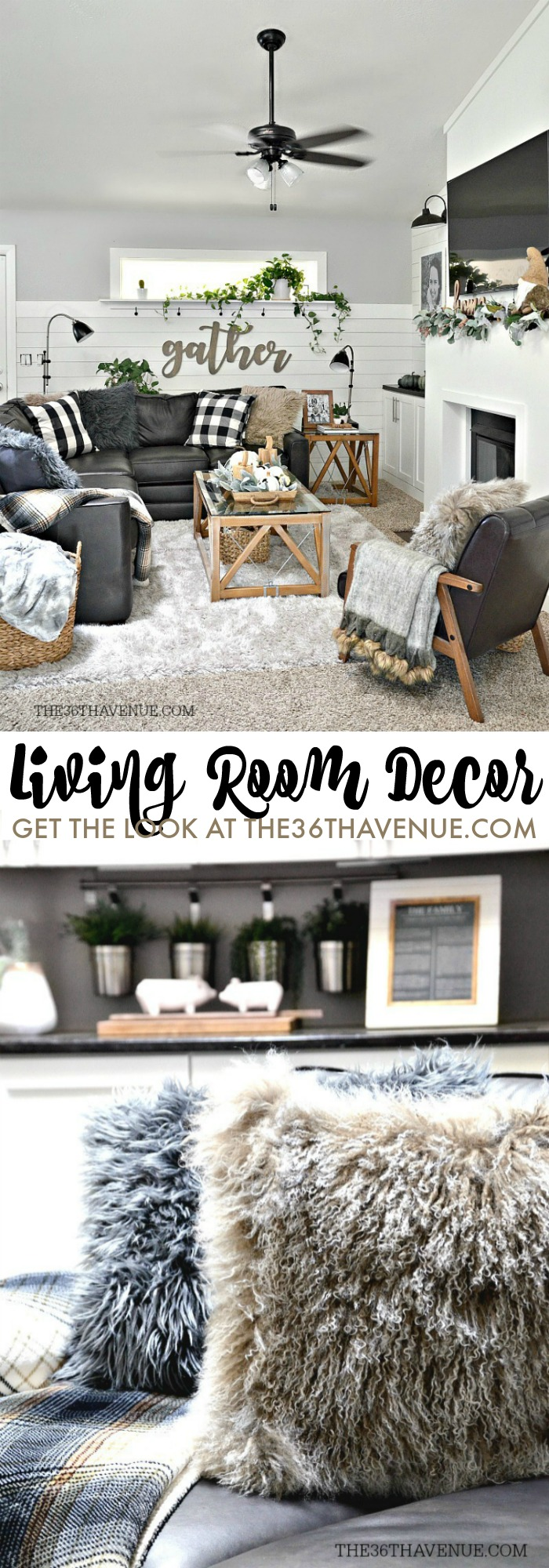 . Living Room Farmhouse Decor Ideas   The 36th AVENUE