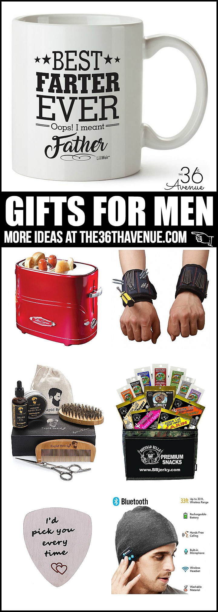 Men Gift Ideas that are fun, affordable, and useful!