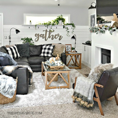 Farmhouse Home Decor Ideas: Living Room Farmhouse Decor Ideas