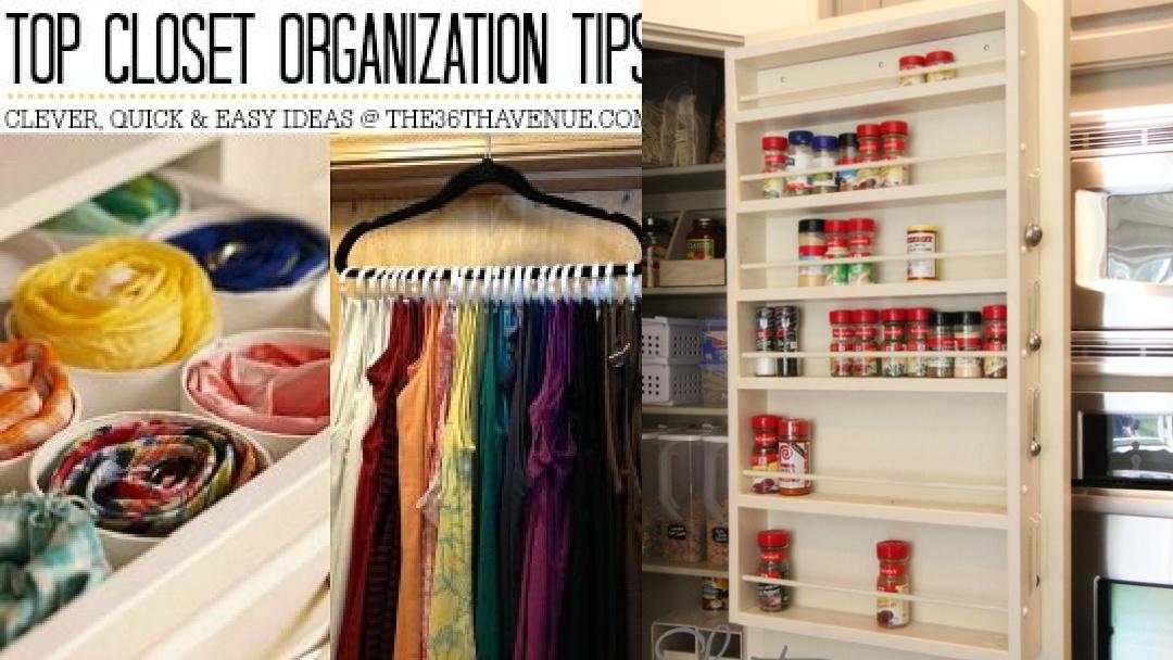 Top 10 Closet Organization Ideas