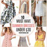 Affordable Women Summer Dresses