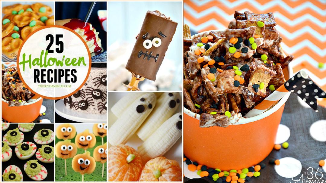 25 Halloween Treats and Dessert Recipes