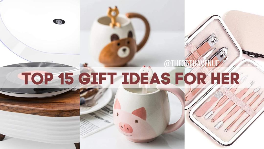 25 Gift Ideas – Cute Women Gifts