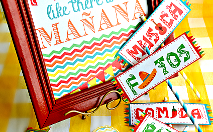 Cinco de Mayo Decorations – Printables
