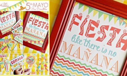 Cinco de Mayo Decorations – Printables