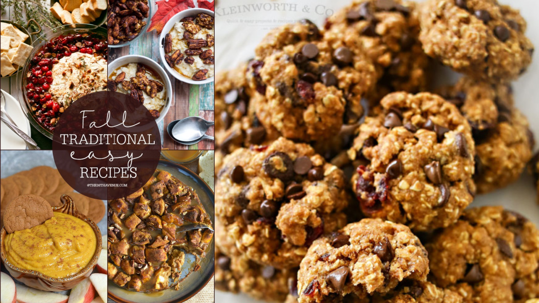 Easy Fall Recipes – Desserts – Snacks