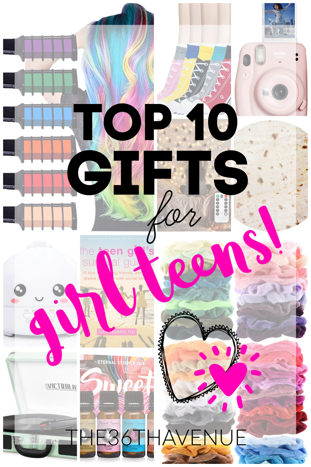 Best gift ideas for teens. Girl gift ideas at the36thavenue.com