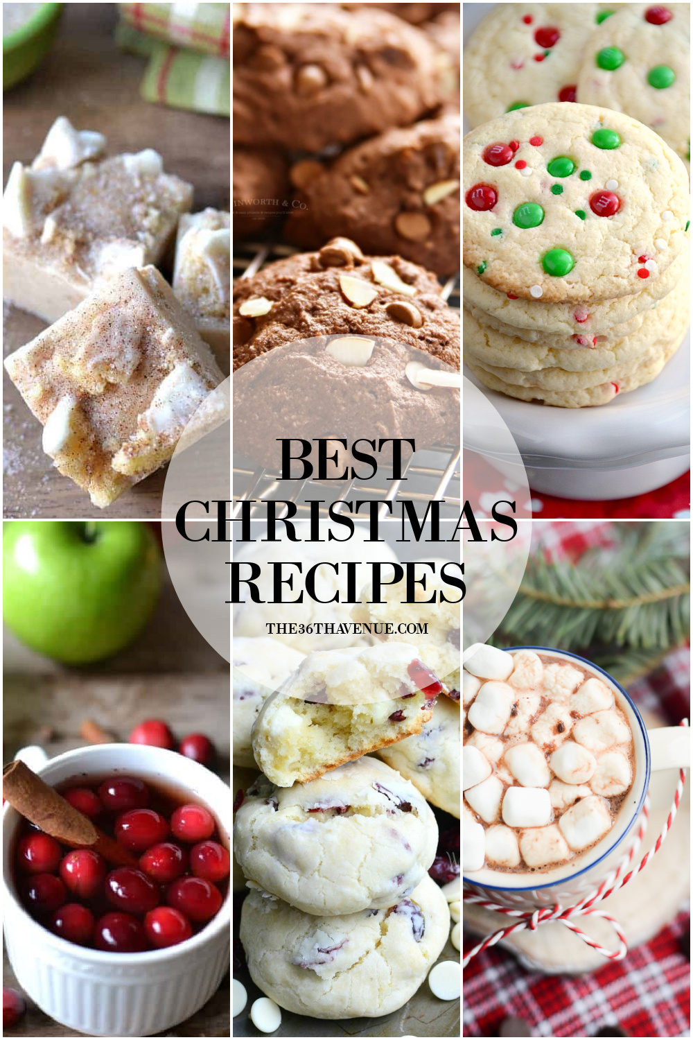 BEST CHRISTMAS RECIPES AT THE36THAVENUE.COM