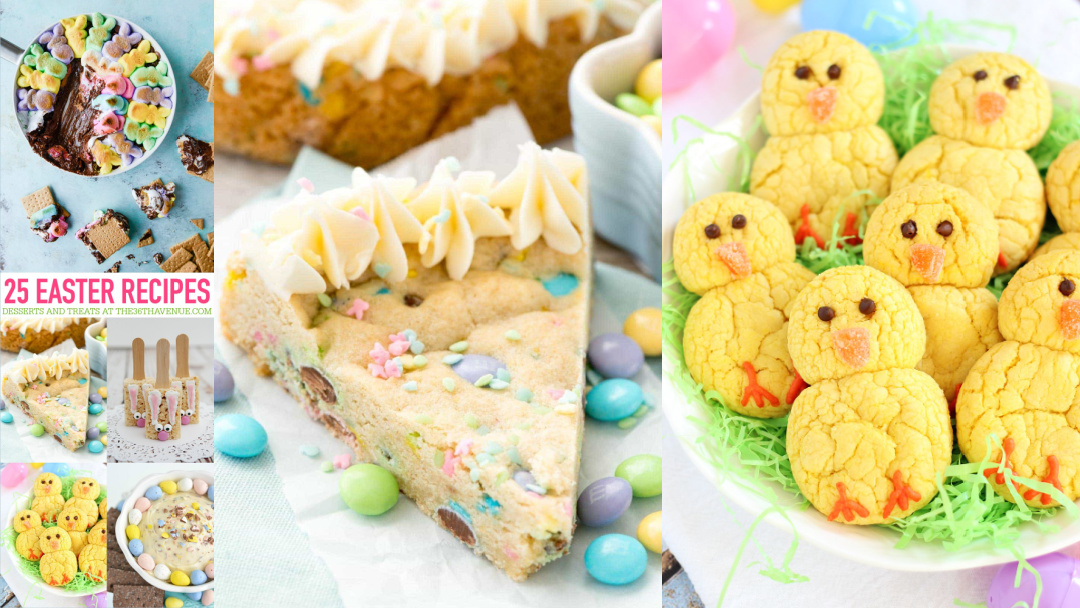 25 Easter Recipes – Easter Desserts